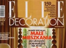 Elle Decoration wrzesień 2008